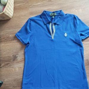 Lauren Ralph Lauren Active blue Polo top Women's L